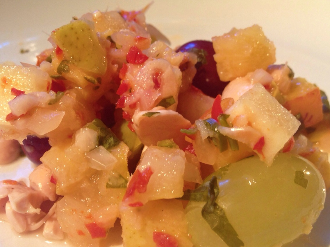 Fruit Kimchi Tasted