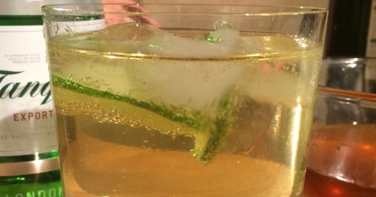 Home-made Tonic Water