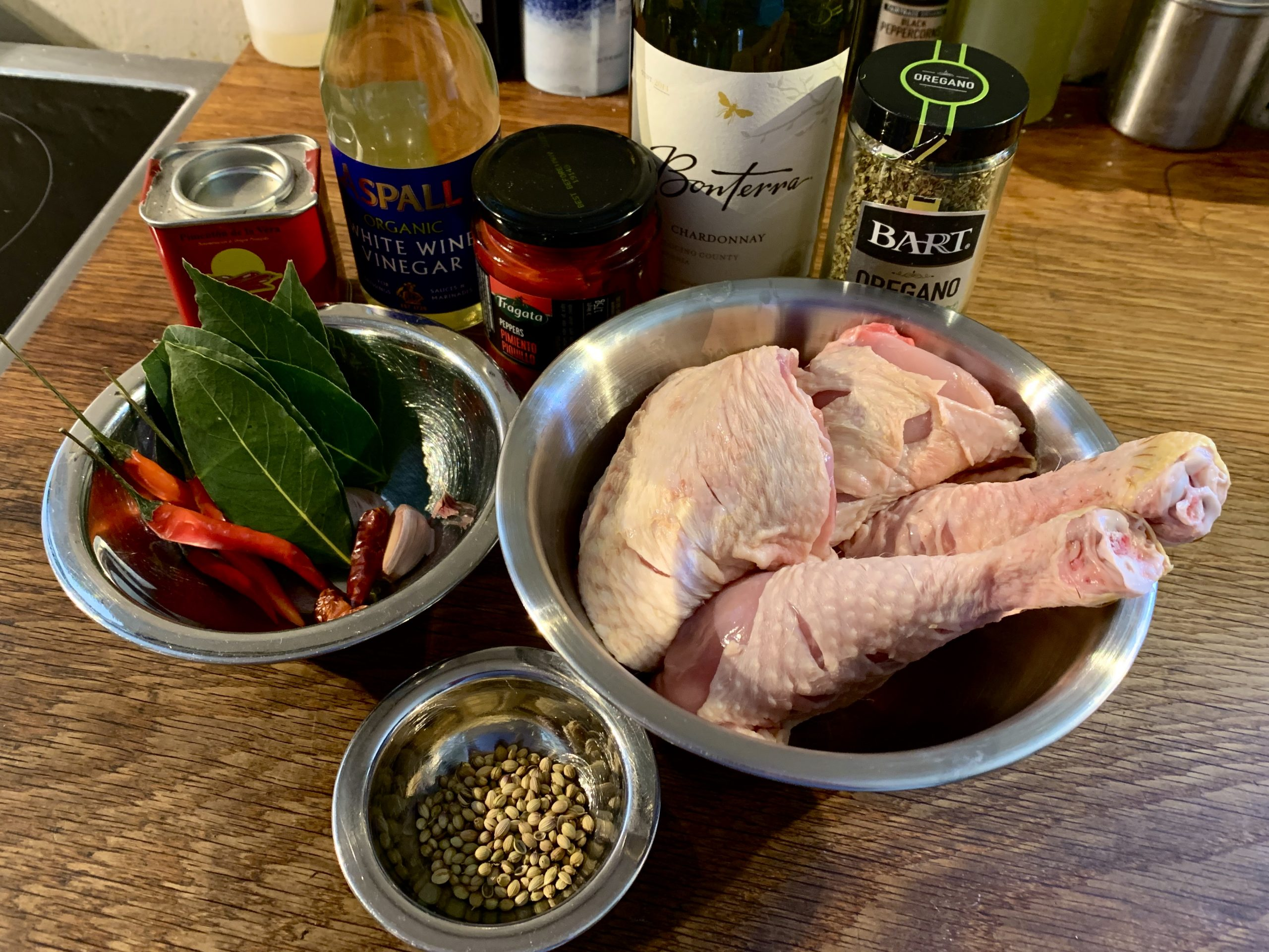 Peri Peri Chicken Ingredients